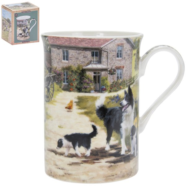 COLLIE & SHEEP MUG