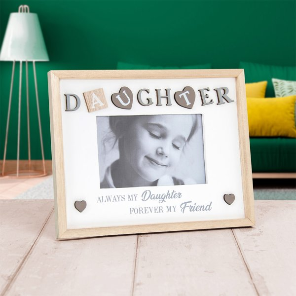 SENTIMENTS FRAME DAUGHTER 4X6""