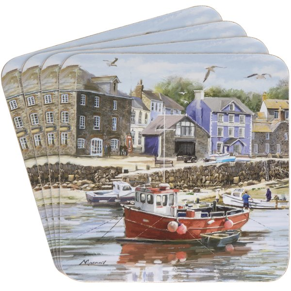 OLD HARBOUR COASTERS SET 4