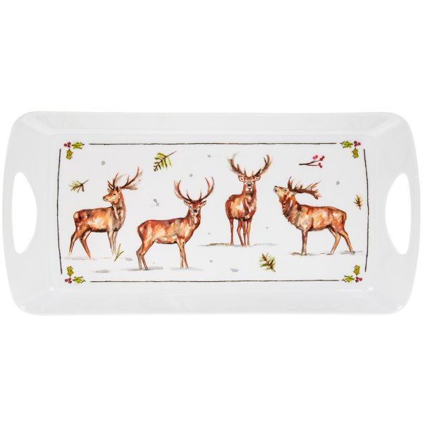 WINTER STAGS TRAY MEDIUM