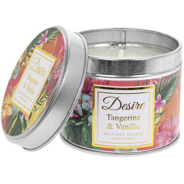 DESIRE TROPICAL CANDLE TIN