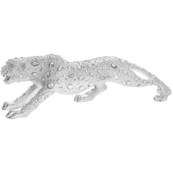 SILVER ART DIAMANTE CHEETAH