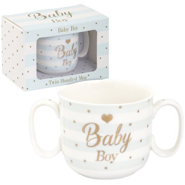 MAD DOTS BABY BOY MUG