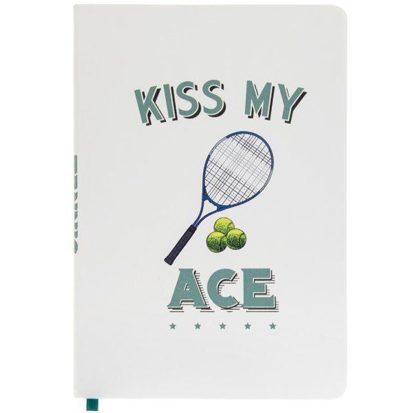 TENNIS NOTEBOOK A5
