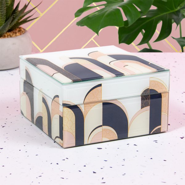 ART DECO JEWELLERY BOX SML