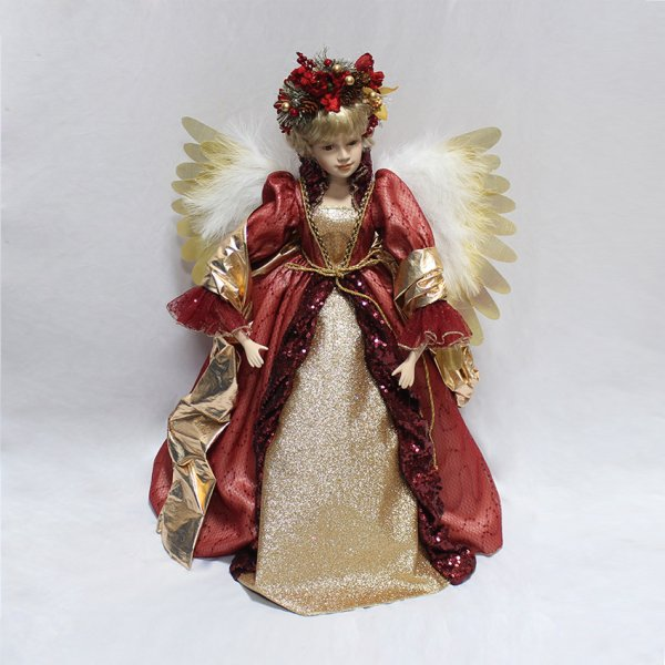 ANGEL MOVING RED 24""