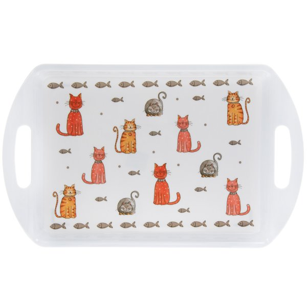 FAITHFUL FRIENDS CAT TRAY LGE