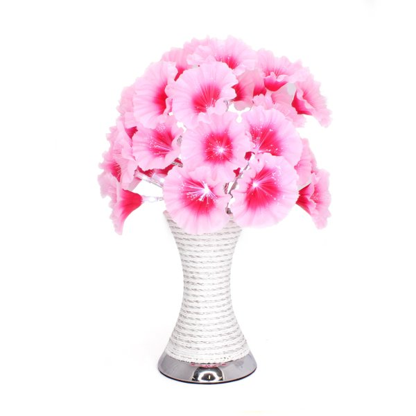 PINK FLOWER LAMP LED
