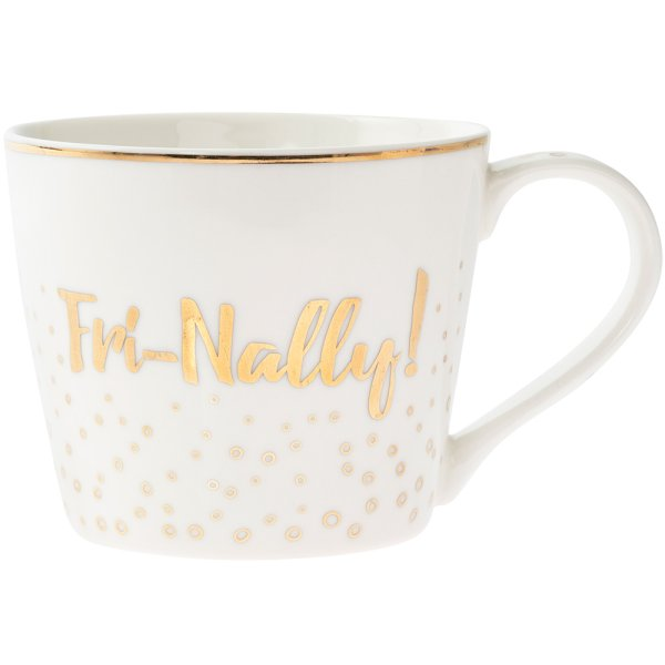 GOLD FRI-NALLY MUG
