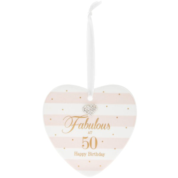 MAD DOTS 50TH HEART PLAQUE