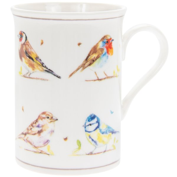 COUNTRY LIFE BIRDS MUG