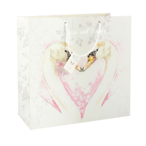 LOVING SWAN GIFT BAG LARGE