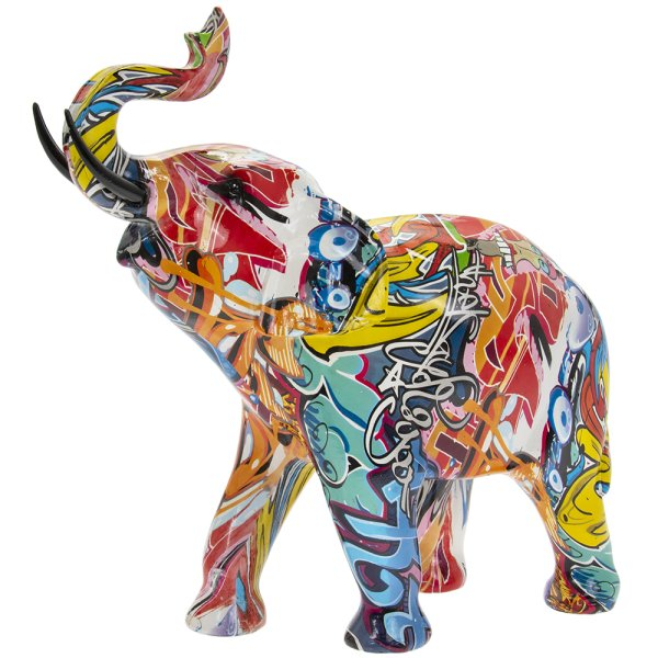 GRAFFITI ELEPHANT LGE