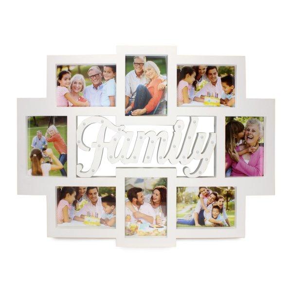 FAMILY PHOTO FRAME COLLAGE LED