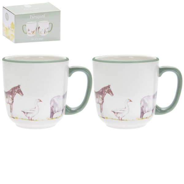 COUNTRY LIFE FARM MUGS S2