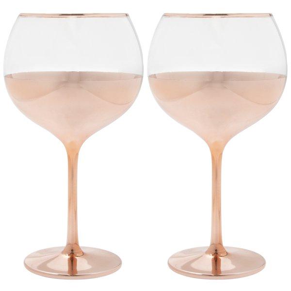 ROSE GOLD GIN GLASSES S2