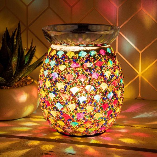 DESIRE AROMA LAMP MOSAIC AMB
