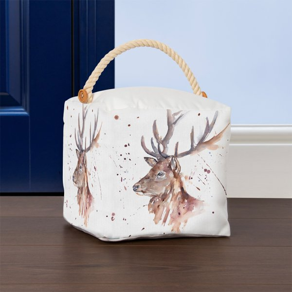 COUNTRY LIFE STAG DOORSTOP