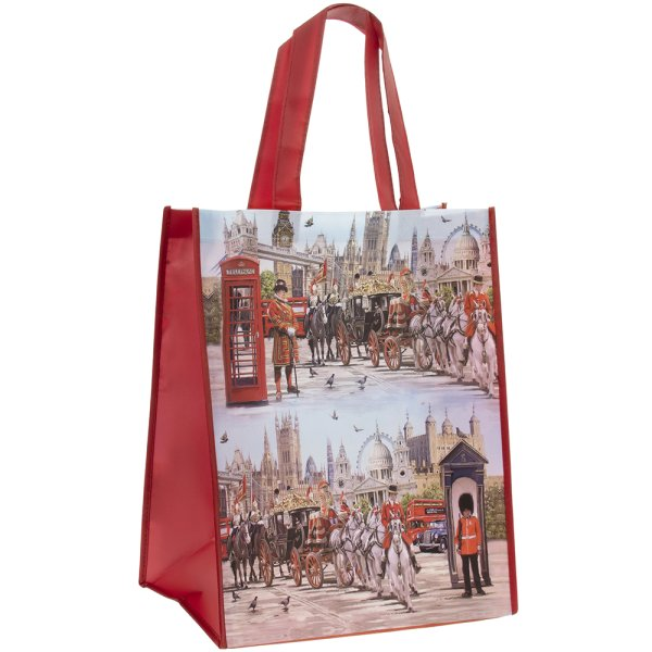 LONDON COLLAGE SHOPPER