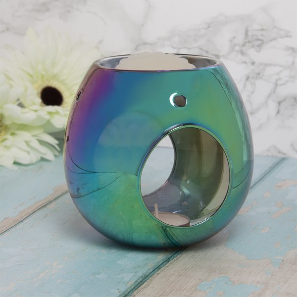 WAX/OIL WARMER IRIDESCENT