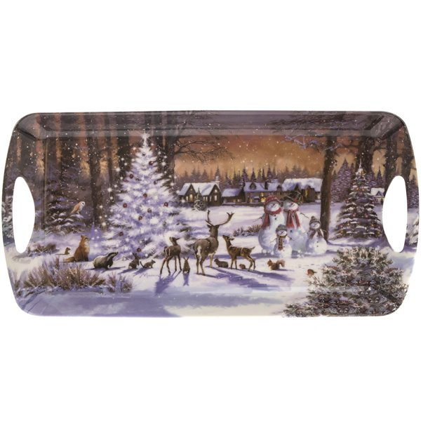 MAGIC CHRSITMAS TRAY MEDIUM