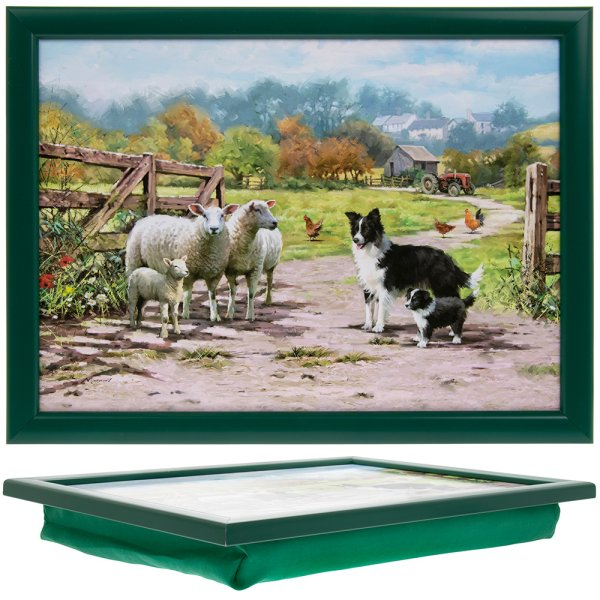 COLLIE & SHEEP LAPTRAY