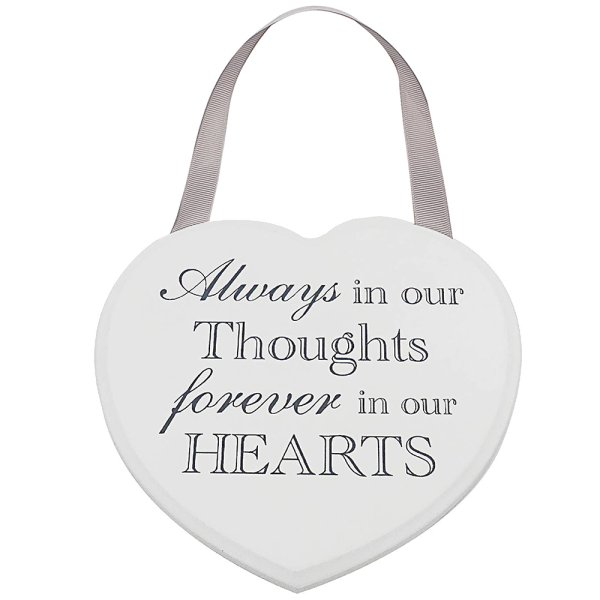 HEART PLAQUE ALWAYS FOREVER