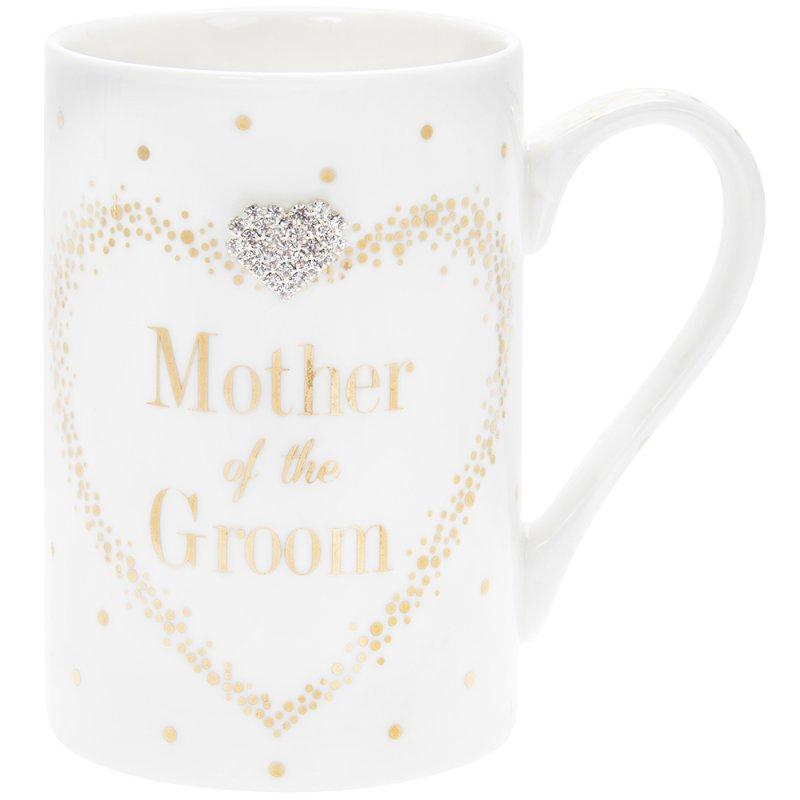 MAD DOTS MOTHER OF GROOM MUG