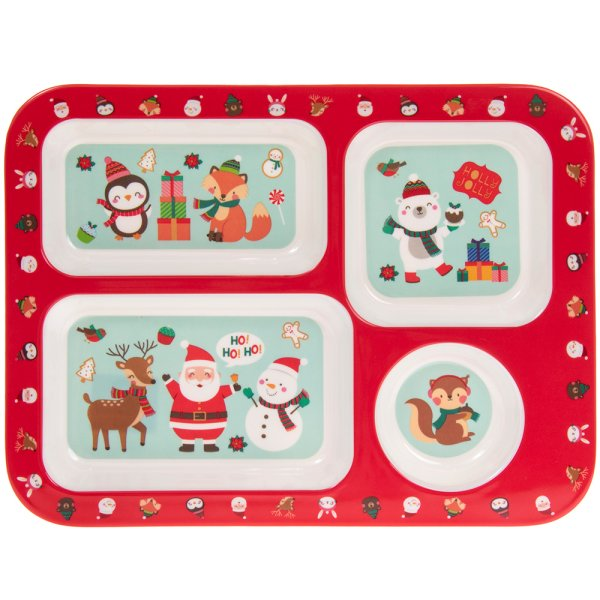 CHRISTMAS COMPARTMENT TRAY