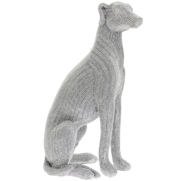 SILVER ART GREYHOUND LGE