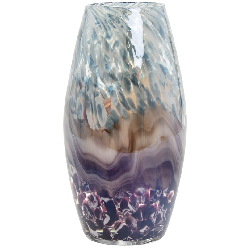 VINCENZA VASE BLUE MED