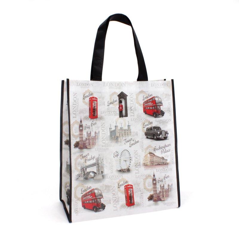 VINTAGE LONDON SHOPPING BAG