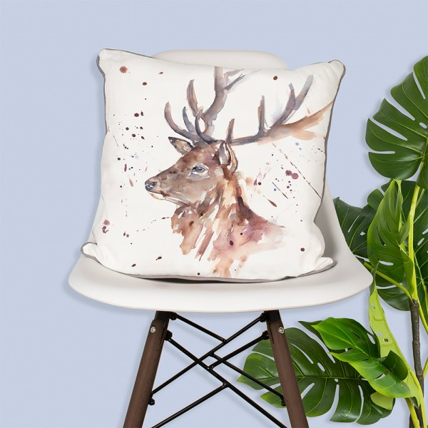 COUNTRY LIFE STAG CUSHION