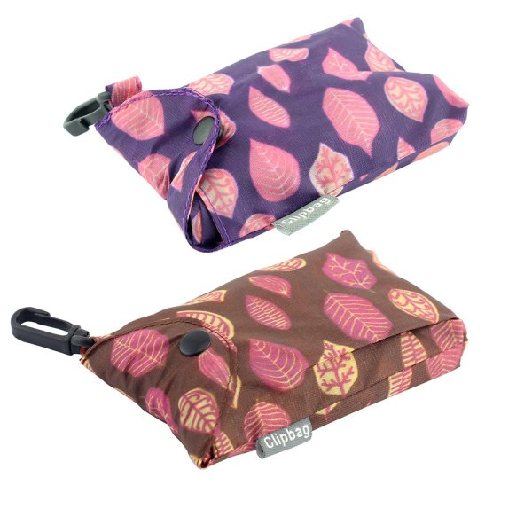 LEAVES CLIP BAG 2 ASST