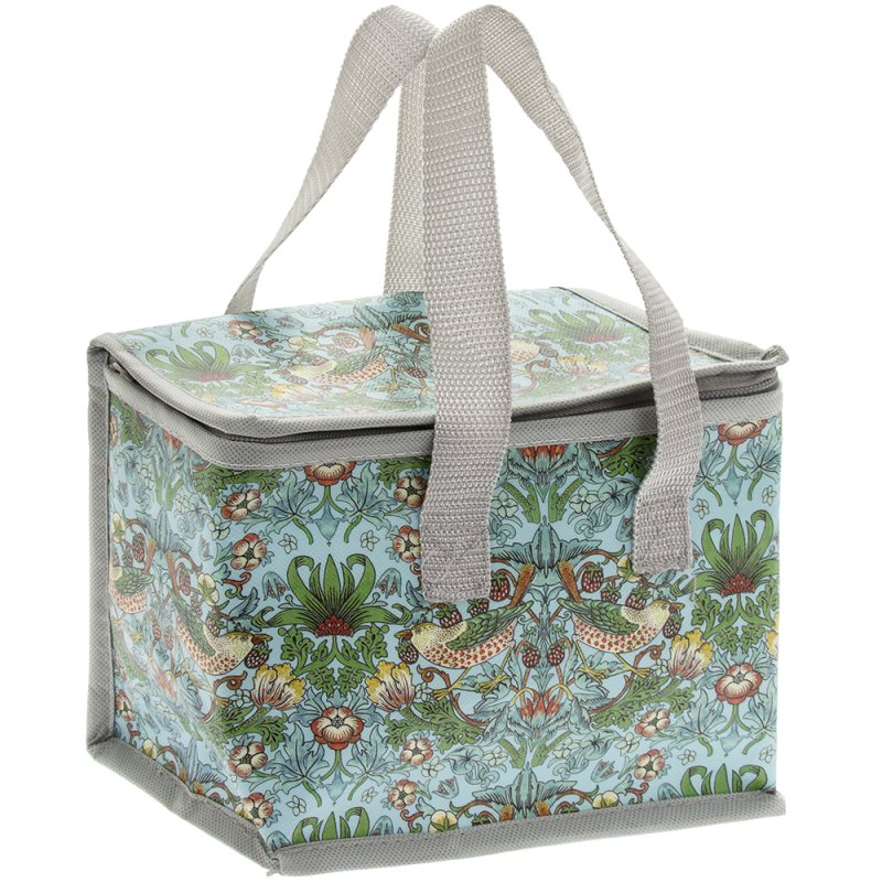 S'BERRY THIEF TEAL LUNCH BAG