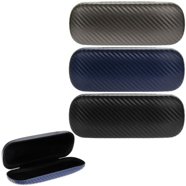 GLASSES CASES GRAPHITE 3 ASST