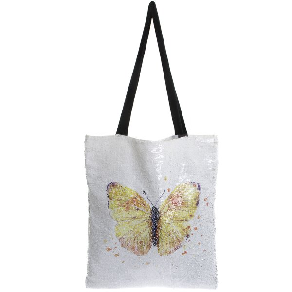BUTTERFLY SEQUIN BAG
