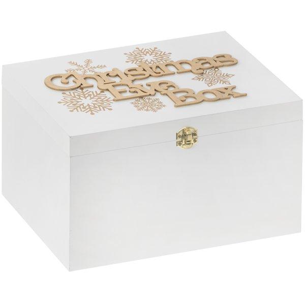 XMAS EVE BOX GOLDENSNOWFLAKE