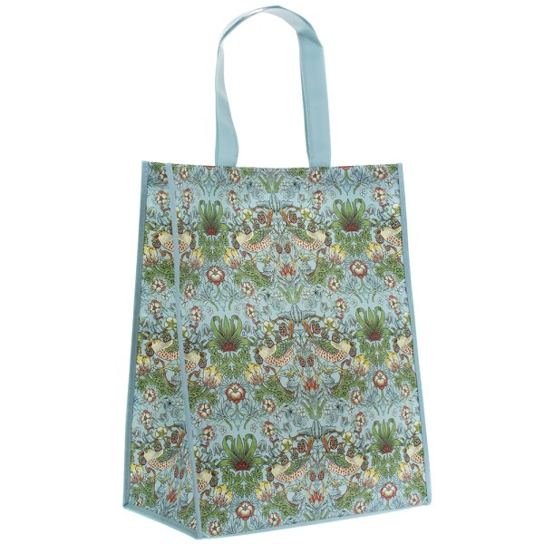 S'BERRY THIEF TEAL SHOPPINGBAG