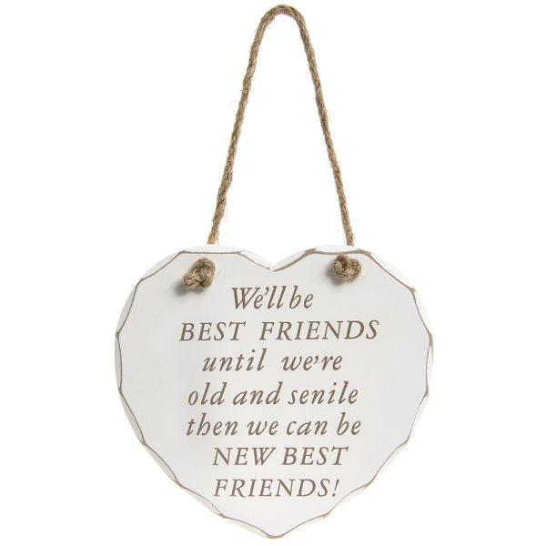 NEW BEST FRIENDS PLAQUE