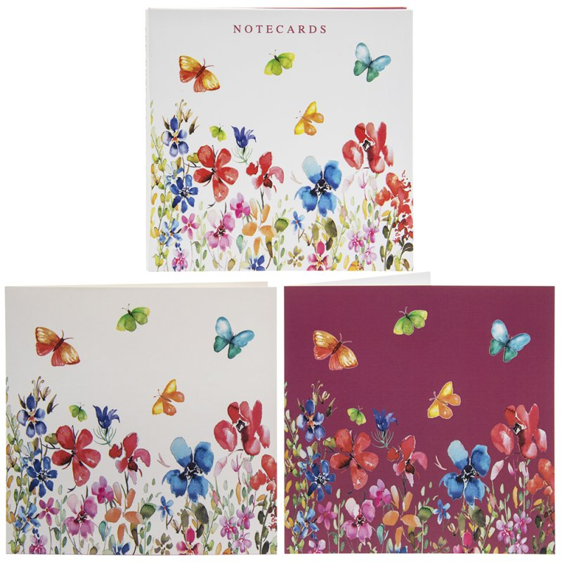 BUTTERFLY MEADOW NOTECARDS