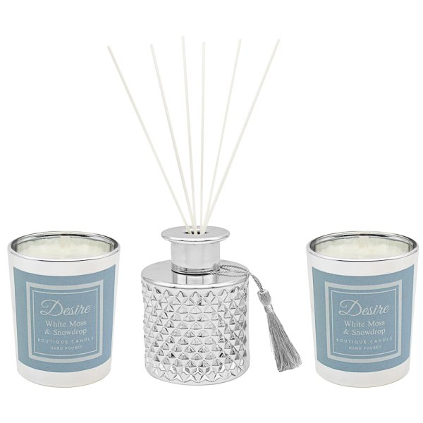 SNOWDROP S2 DIFFUSER/CANDLE