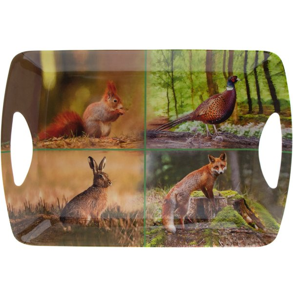 WILDLIFE TRAY LARGE