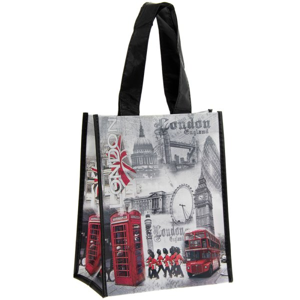 LONDON SHOPPING BAG SML