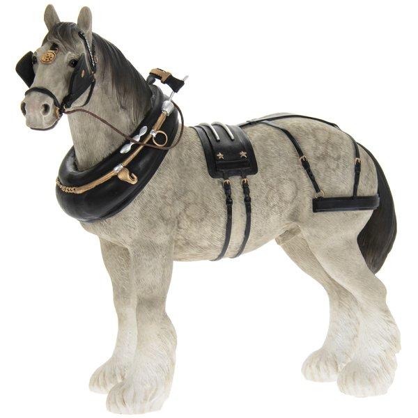 SHIRE HORSE GREY