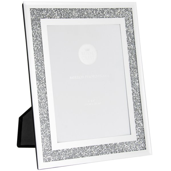 MULTI CRYSTAL PHOTO FRAME 6X8""