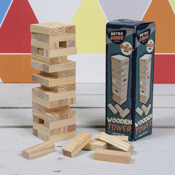 RETRO WOODEN TOWER