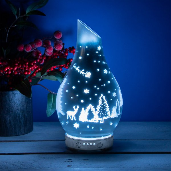 XMAS GLASS HUMIDIFIER