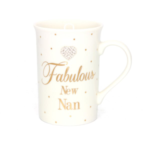 MAD DOTS NEW NAN MUG