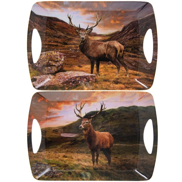 STAGS LARGE TRAY 2 ASST